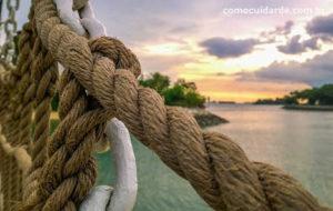 Corda com paisagem, como cuidar corretamente de uma corda