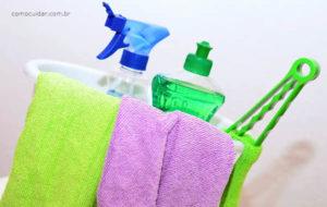Como cuidar da casa limpeza desinfecção produtos